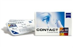 Contact Day30 Colours - 3 colors (PWR 0,00) 2pcs.