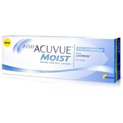 Kontaktlinsen 1 Day Acuvue Moist for Astigmatism 30 Stck.