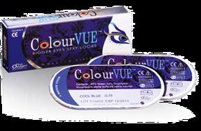 Soczewki Kolorowe ColourVue Eyelush (moc 0,00) 2szt.